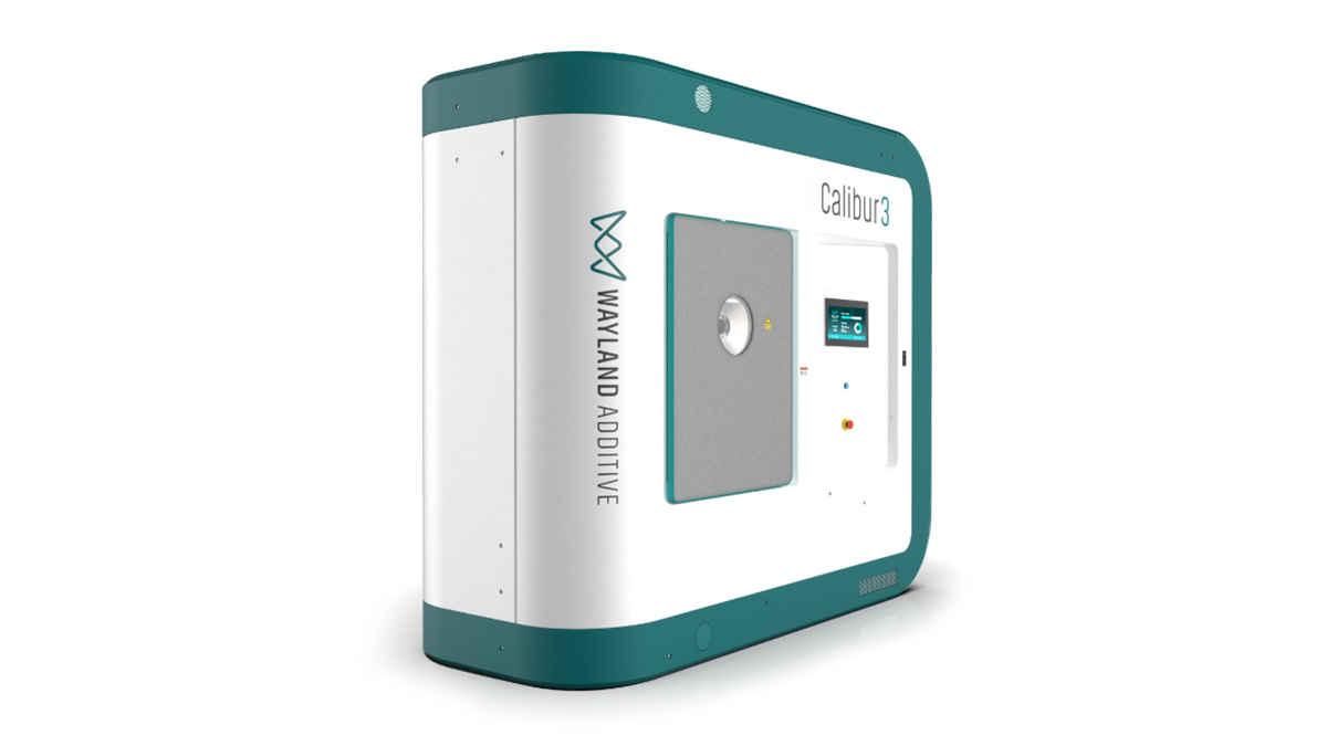 Wayland Additive ilk NeuBeam 3D baskı makinesi Calibur 3 için gün sayıyor