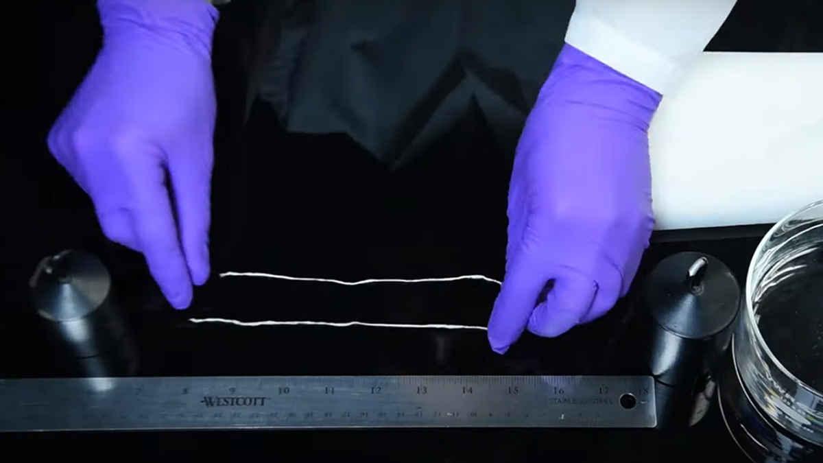 SEAS artık yünden 3D baskı malzemesi üretti
