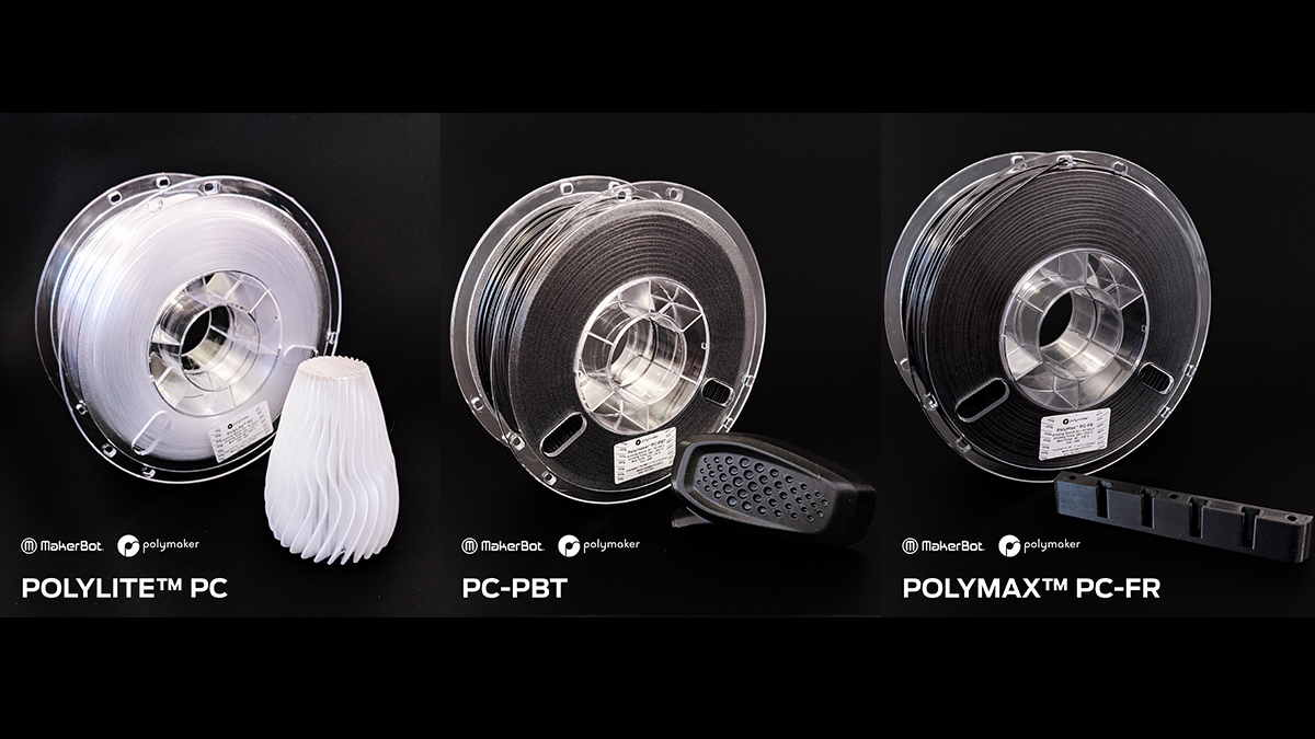Polymaker'dan yeni endüstriyel polikarbonat malzemeler