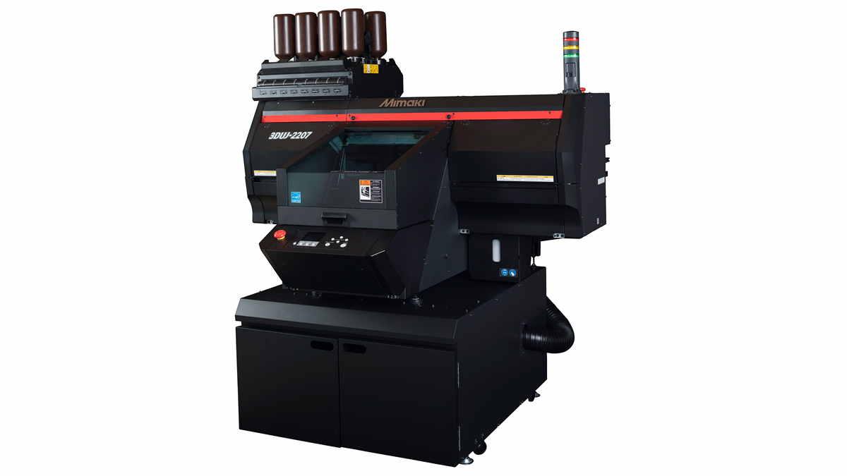 Yeni Mimaki 3DUJ-2207 ile tam renkli 3D baskı mümkün